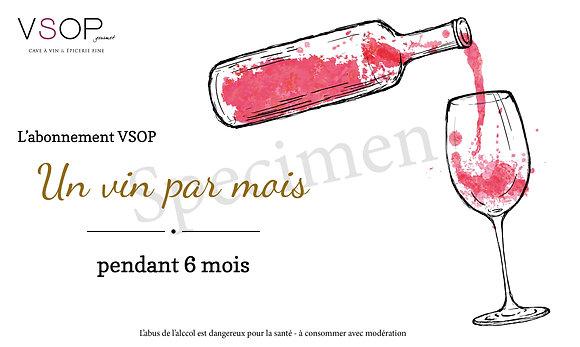 Abonnement de Vin