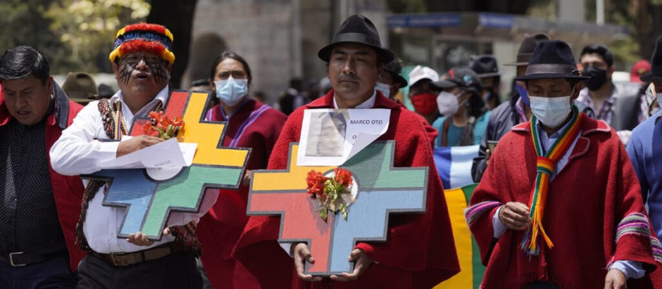 """La Conaie se suma a movimiento """"contra la colonización moderna"""""""