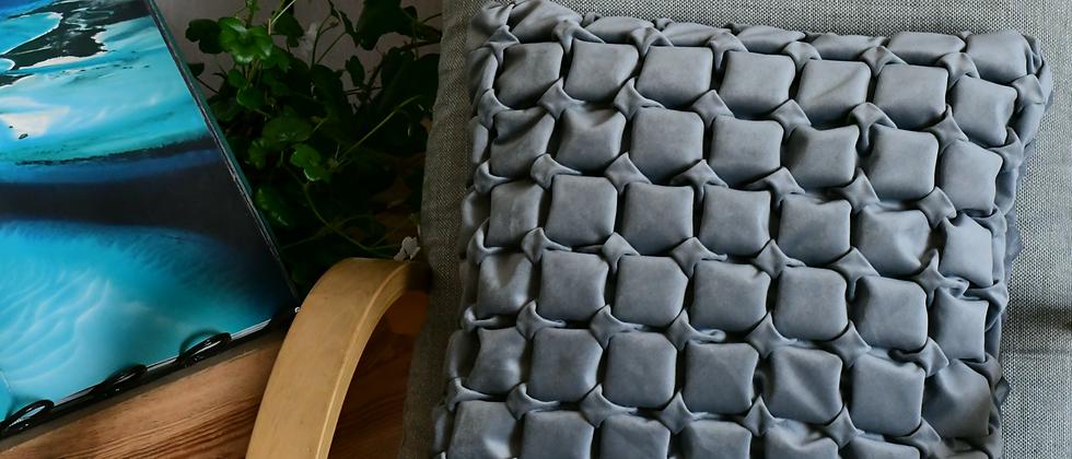 Royal Grey Pillow Cover