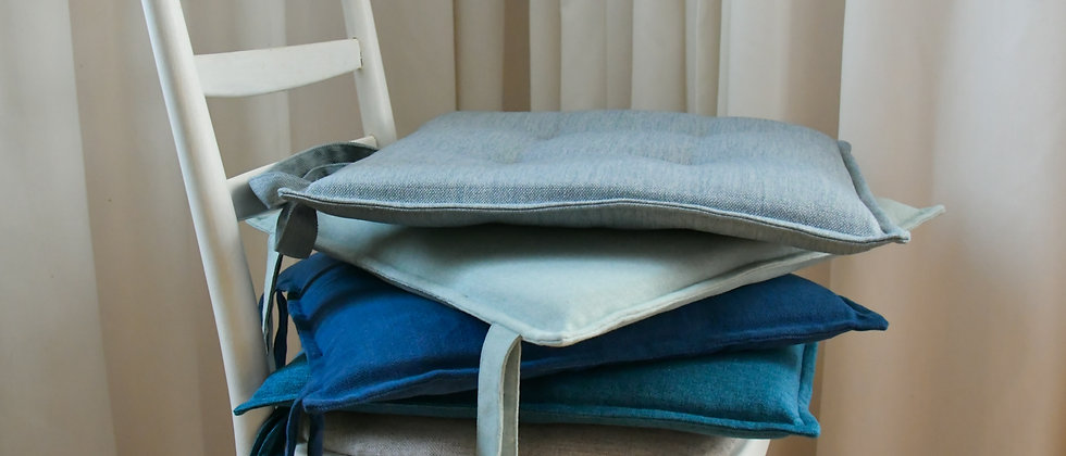 Chair Cushions/Covers in Blue Colours