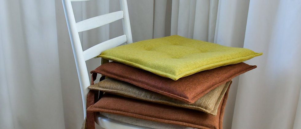 Seat Covers Cushions  in Brown Colours