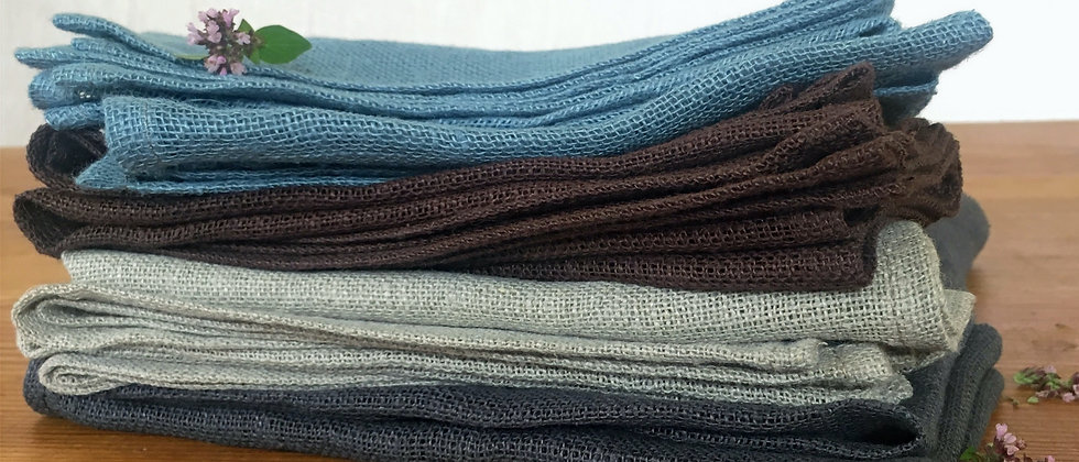 Washed Soft Handmade Linen Napkins