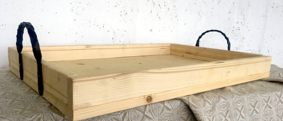 Natural Light Wood Tray