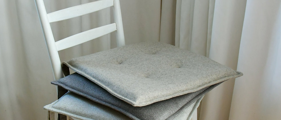 Seat Cushions/Covers in Grey Colours