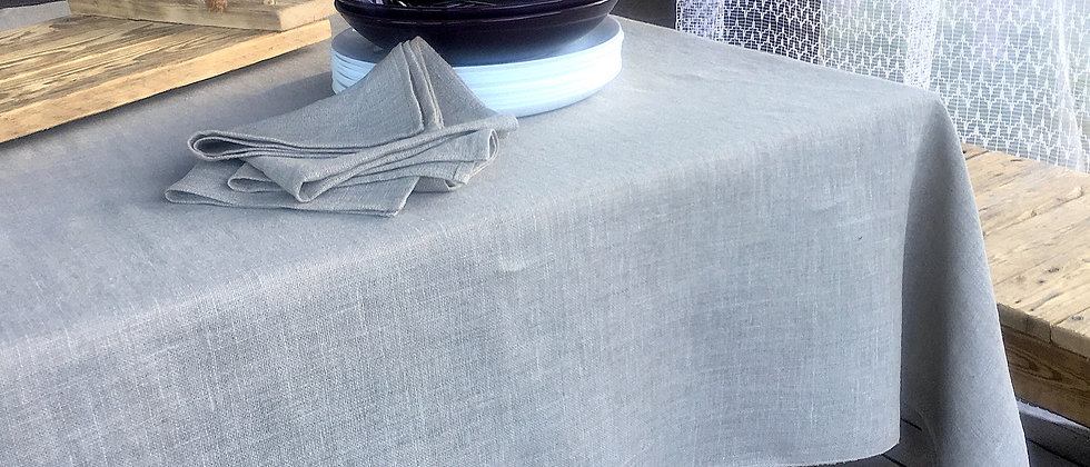 Soft High Quality Linen Tablecloth