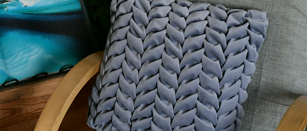 Royal Grey Pillow Cover