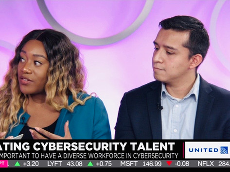 OUR FOUNDER TALKING CYBER TALENT AND DIVERSITY WITH CHEDDAR NEWS
