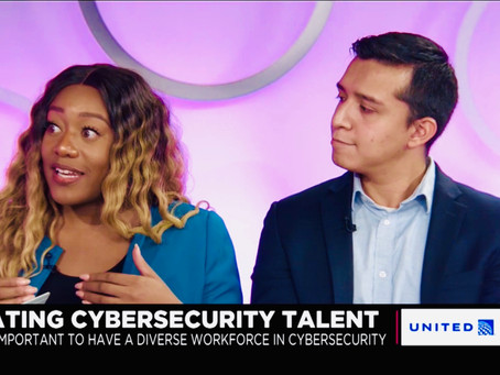 We sat down with Cheddar for an exclusive interview on closing the opportunity divide in cyber