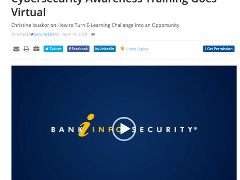 OUR TAKE ON THE FUTURE OF TRAINING AND AWARENESS WITH INFOSEC MEDIA GROUP