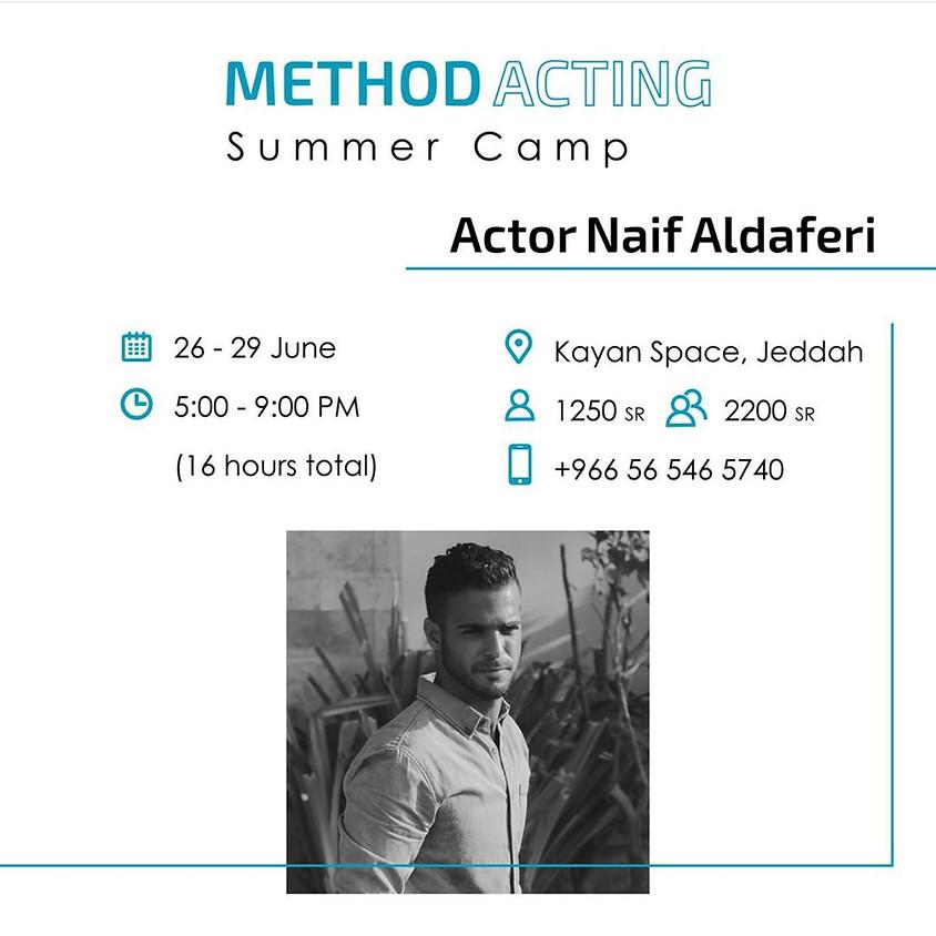 Method Acting Workshop by Naif Aldaferi (4 days)