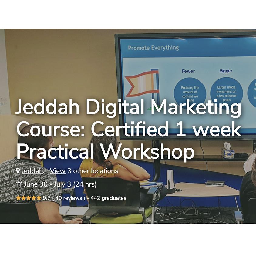 Digital Marketing Course: Certified 1 Week Practical Workshop