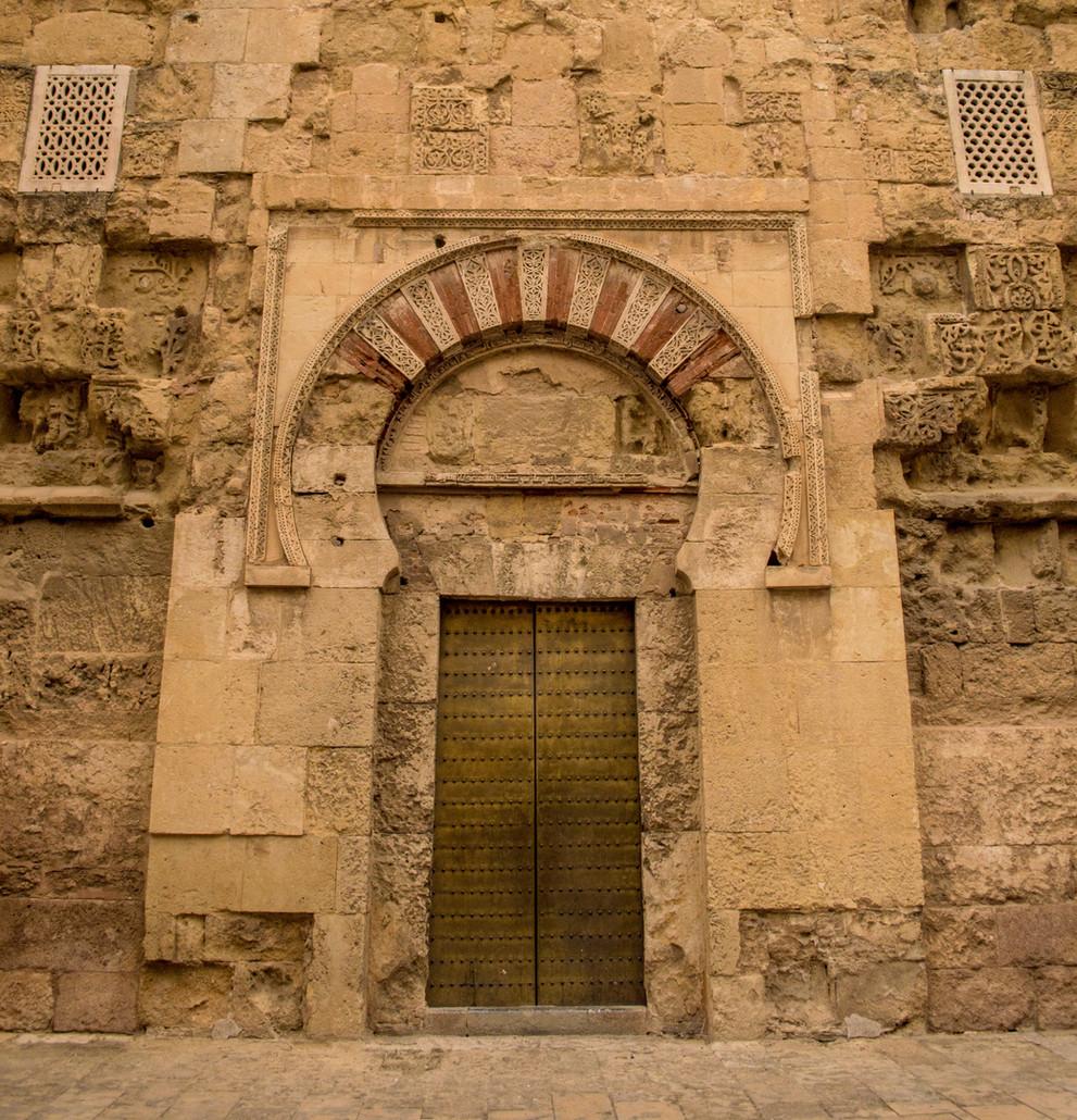 The mezquita of Cordoba.