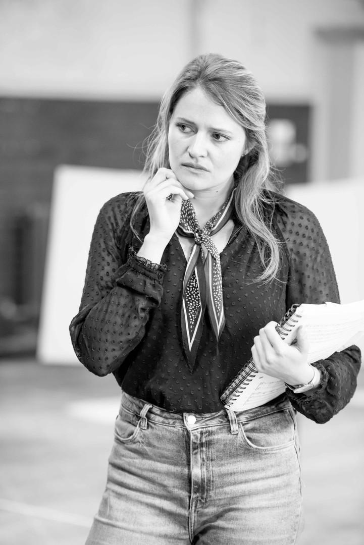 Georgiana, Buxton Opera House Festival - Rehearsals