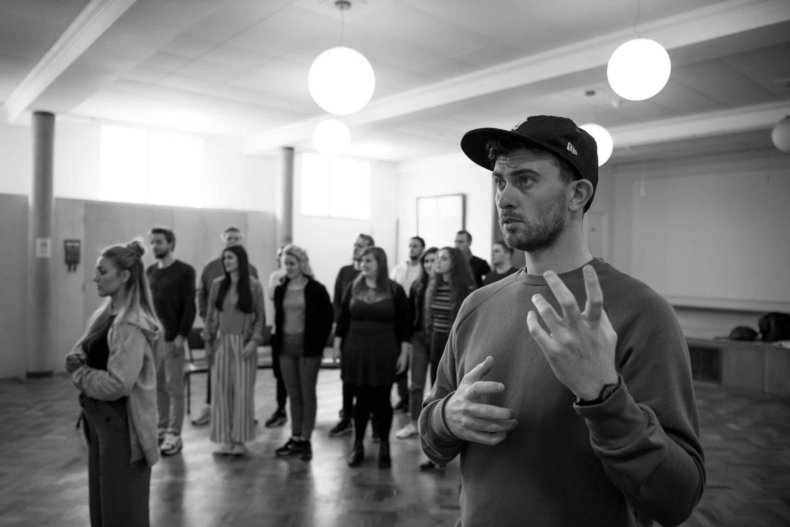 Lucio Papirio Dittatore, Buxton Opera House Festival - Rehearsals