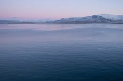 Reykjavik Harbour at Dawn