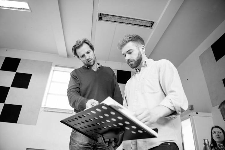 Eugene Onegin, Buxton Opera House Festival - Rehearsals