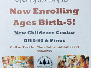 New Childcare Center Next Door!