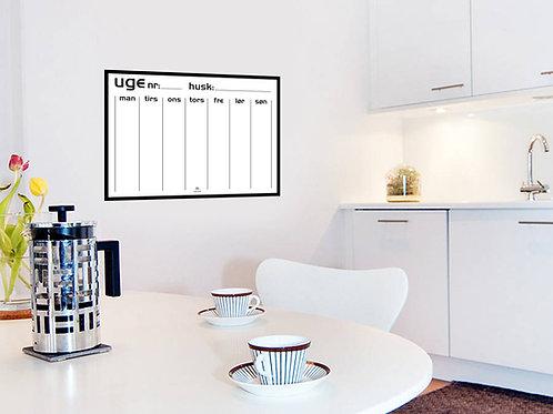 Stor Whiteboard kalender