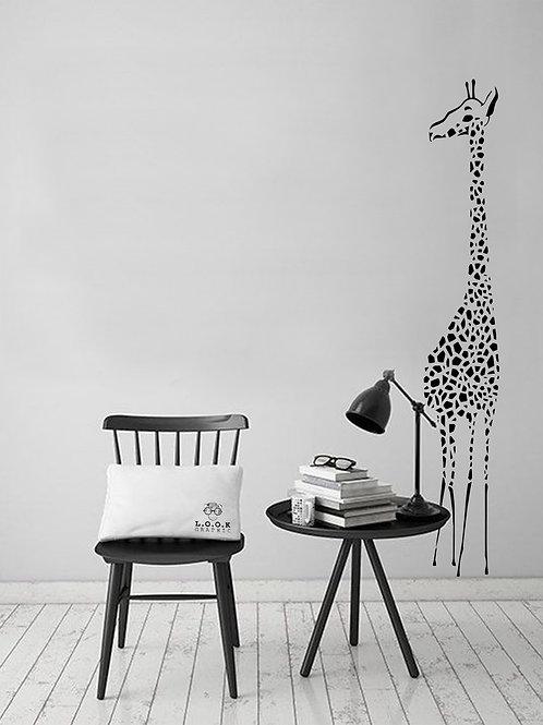 Giraf væg-deko