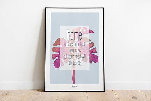 Home - plakat