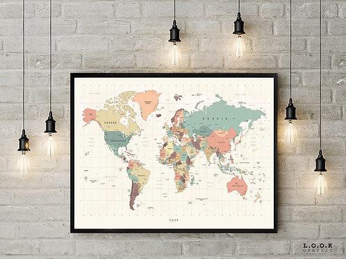 Verdens plakat