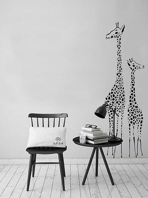 Giraffer væg-deko