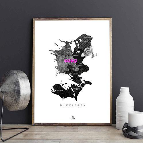 Sjælland Plakat