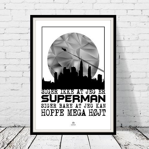 Superman plakat