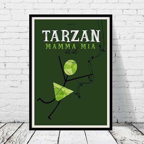 Tarzan Mamma Mia-plakat