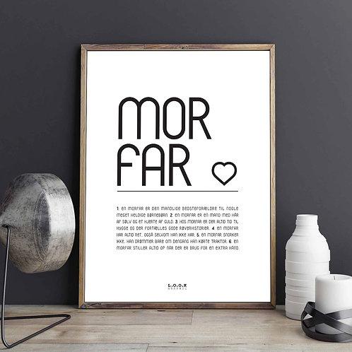 MORFAR Plakat