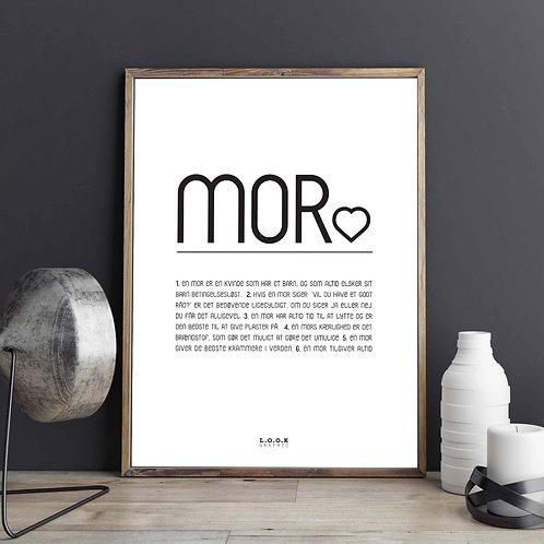 MOR Plakat