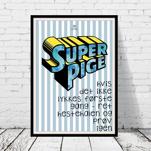 SuperPige - plakat