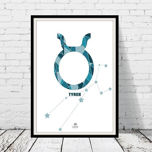 Horoskop plakat