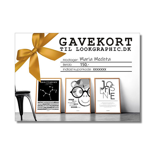 Gavekort 150,-