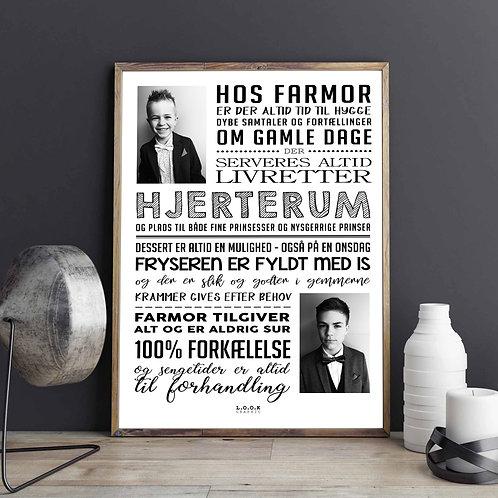 Hos FARMOR-plakat