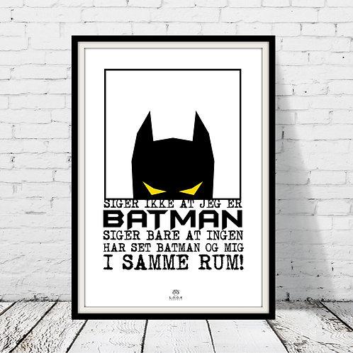 Batman plakat