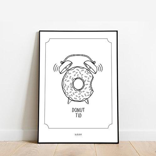 Donut Plakat