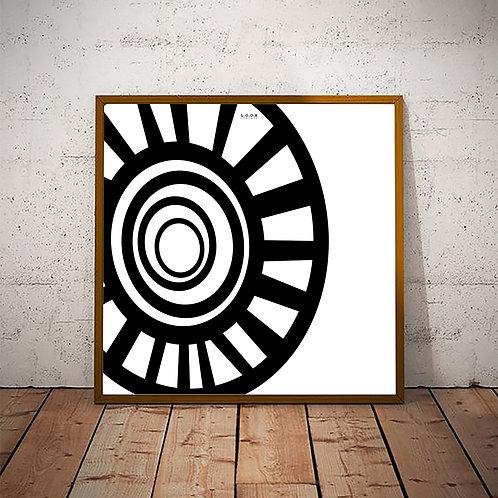 Abstrakt plakat
