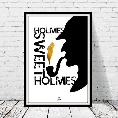 Sherlock Holmes plakat