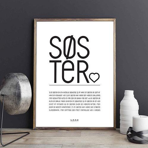 SØSTER Plakat