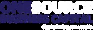 One Source Business Capital Logo whitebl
