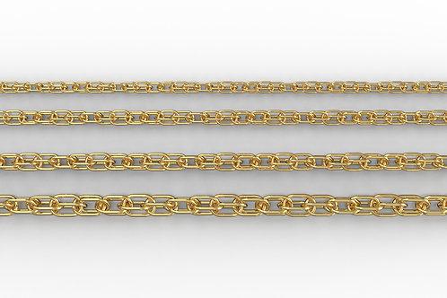 Rope Chain 9ct Yellow Gold