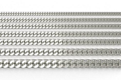 Curb Chain Silver 925