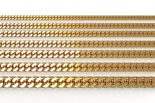 Curb Chain Yellow Gold