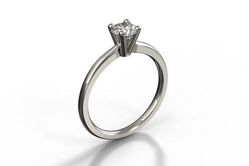 4 Claw Platinum Diamond set Solitaire