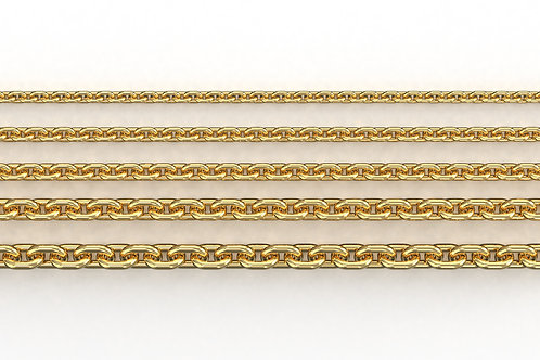Trace Chain Yellow Gold