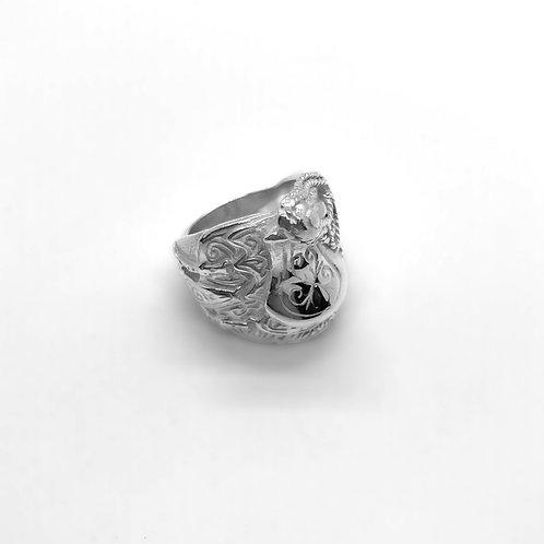 Saddle Ring Silver