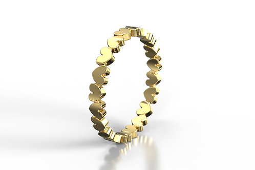 Heart Ring 9ct Gold
