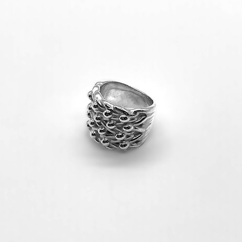 Keeper Ring Silver