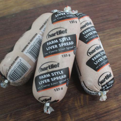 Hartlief Farm Style Liver Spread 125g